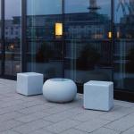 Moree Granite Cube Outdoor Sitzwürfel Dekolampe Aussen