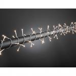 Konstsmide 2376-003 Microlight Lichterkette verschweißt 160 klare Birnen 24V Außentrafo