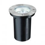 Paulmann Special EBL Set Boden rund LED 1, 2W 230V 110mm Edelstahl/Edelstahl