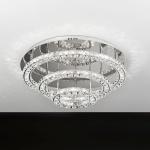 Toneria Kristall LED Deckenleuchte chrom 144 x 0, 5W Deckenlampe