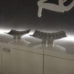 s.HOME Barrow M Design Aluschale 20 x 20cm Alu-Matt Dekoschale Obstschale
