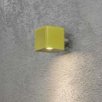Konstsmide 7681-100 Amalfi LED Aussen-Wandleuchte inkl. Trafo 12V Oliv
