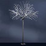 LeuchtenDirekt 86130-18 LED-Baum 250 cm / 600 x 0, 03W / 12000K / IP44 / Schwarz