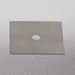 s.LUCE Dekoplatte Alu-matt passend zu Beam 12 x 12cm Zubehör Innen
