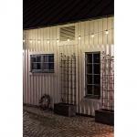 Konstsmide 2378-100 LED Biergartenkette 10er klar 80 warmweisse Dioden 24V Lichterkette