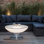 Moree Lounge Table Outdoor / Tisch / 45 cm / Dekolampe Aussen