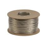 SLV 139006 Niedervoltseil isoliert 6mm² / 100m Stromkabel Lampenkabel