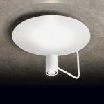 LED-Deckenleuchte Disc direktes & indirektes Licht 2200 + 900lm Weiss