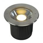 SLV 230160 Dasar Modul LED Bodenleuchte rund Edelstahl 316 für Philips LED Twistable