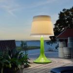 Konstsmide 7109-602 Assisi Solar LED Tischlampe Grün