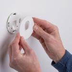 Licht-Trend LED Wandeinbauleuchte Box Ø 7, 8cm mit Bewegungsmelder 100lm Weiss inkl. Leuchtmittel