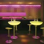 Moree Lounge Table / LED Tisch Pro mit Akku / 105 cm / Dekorationslampe