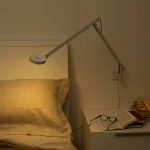 Rotaliana 1SRW1 002 43 EL0 String LED-Wandleuchte mit Dimmer Wandlampe Silber