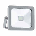 Eglo 95403 LED Aussenstrahler Faedo 1 10W 900lm Silber