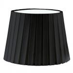 1+1 Vintage Schirm Textil Plisse schwarz Zubehör Innen
