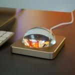 Eye LED-Tischleuchte mit Touchdimmer 400lm Gold