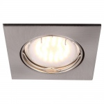 Globo 12341-3 Pittsburgh Einbaustrahler Aluminium Nickel-Matt 3xGU10 LED