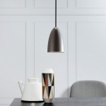Licht-Trend MiraMira / LED Pendelleuchte Ø 10cm / Alu-matt