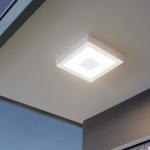 LED Aussen-Deckenlampe Iphias 22, 5 x 22, 5cm Weiss
