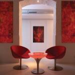 Moree Lounge M 45 / LED Tisch Pro mit Akku / Dekorationslampe