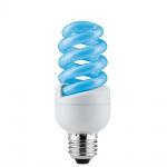 Paulmann Energiesparlampe Spirale 15W E27 Blau 88090
