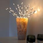 Inga LED Tisch- & Dekolampe Ø 50 cm / 2500K Dekoleuchte Weihnachts-Lichterkette
