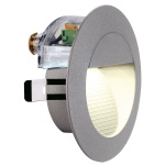 SLV Downunder LED 14 Wandleuchte Steingrau 0, 8W Warmweiß IP44 230202