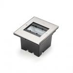 Konstsmide 7962-310 High Power LED Bodeneinbaustrahler 1100lm mit verstellbarem Lichtaustritt Edelstahl