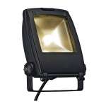 SLV 231162 LED Flood Light / schwarz matt / 30W / warmweiss / 120°
