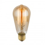 E27 Edison Leuchtmittel Birne 60W / 390 Lumen / 2700K