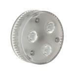 SLV GX53 LED Leuchtmittel 200 Lumen 3 x 1, 4W 3000K 35° 550092