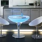 Moree Lounge Table LED Tisch Pro 75cm Dekorationslampe