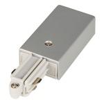 SLV 143042 Einspeiser für 1-Phasen HV-Stromschiene Aufbauversion silbergrau Erde Rechts
