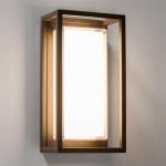 Licht-Trend LED-Aussenleuchte Quadro W3 Wand oder Decke 10W Anthrazit