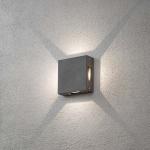 Konstsmide 7984-370 Cremona LED Aussen-Wandleuchte 4er-Lichtstrahl einstellbar Anthrazit