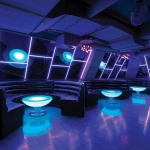 Moree Lounge Table LED Tisch Pro mit Akku 45cm Dekorationslampe