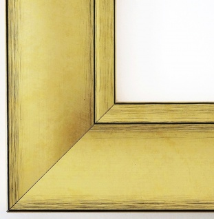 Bilderrahmen Gold Bochum 6, 9 - 80x80 80x90 80x100 80x120 90x90 90x100 100x100