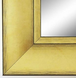 Spiegel Wandspiegel Bad Flur Garderobe Modern Shabby Bochum Gold 6, 9 alle Größen