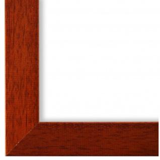 Bilderrahmen Hell Braun Modern Vintage Holz Alba 3, 0 - NEU alle Größen