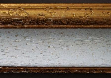 Bilderrahmen Weiß Gold Antik Barock Foto Urkunden Rahmen Holz Vintage Acta 6, 8 - Vorschau 5