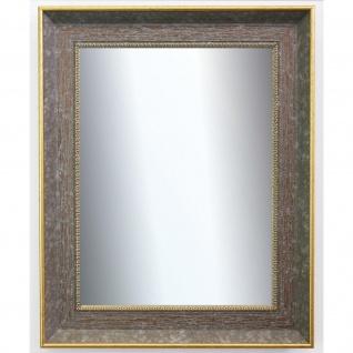 Garderobenspiegel Grau Gold Monza Barock Antik 6, 7 - NEU alle Größen