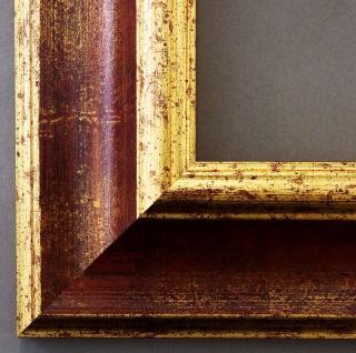 Bilderrahmen Foto Urkunden Rahmen Barock Antik Vintage Acta Dunkel Rot Gold 6, 8