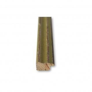 Bilderrahmen Grün Antik Holz Cosenza 2, 0 - Din A2 - Din A3 - Din A4 - Din A5 - Vorschau 5
