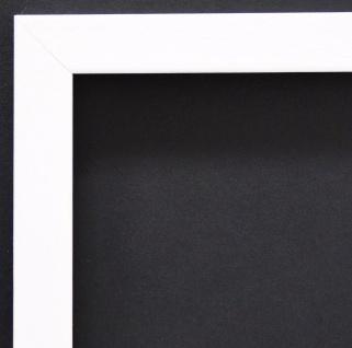 Bilderrahmen Weiss Struktur Modern Rahmen Holz Oldenburg 1, 7 - Top Qualität