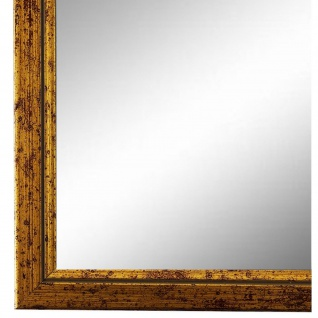 Wandspiegel Spiegel Gold Retro Vintage Holz Sanremo 1, 8 - NEU alle Größen