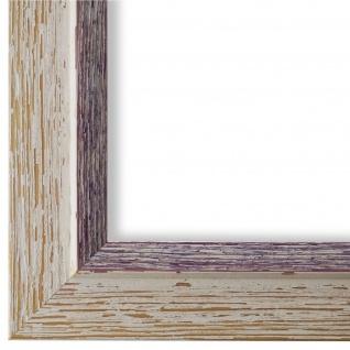 Bilderrahmen Beige Lila Retro Holz Catanzaro 3, 9 - 40x60 50x50 50x60 60x60