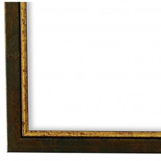 Bilderrahmen Grün Gold Holz Sanremo - 24x30 28x35 30x30 30x40 30x45 40x40 40x50