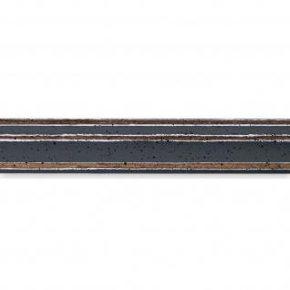 Bilderrahmen Grau Antik Holz Cosenza 2, 0 - Din A2 - Din A3 - Din A4 - Din A5 - Vorschau 2