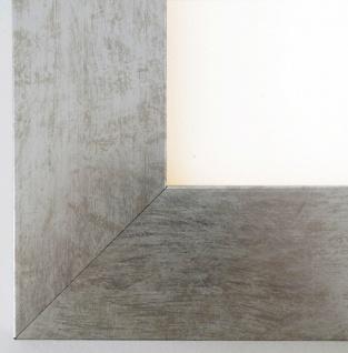 Bilderrahmen Essen in Silber Modern Shabby Rahmen Holz 6, 0 - alle Größen NEU