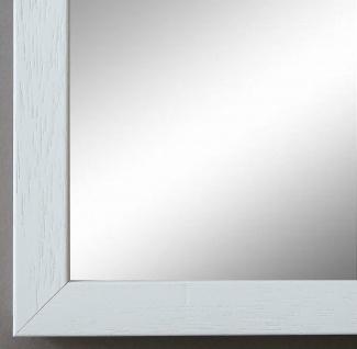 Spiegel Wandspiegel Badspiegel Flur Garderobe Shabby Chic ComoWeiss Struktur 2, 0